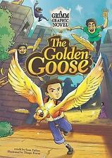 The Golden Goose: A Grimm Graphic Novel (Graphic Spin)-ExLibrary