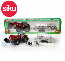 SIKU NO.1948 1:50 MASSEY FERGUSON TRACTOR & IFOR WILLIAMS TRAILER Model / Toy