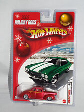 Hot Wheels 2005 Holiday Rods 1940 Ford Coupe Red w/ Real Riders