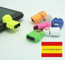 ADAPTADOR ROBOT MICRO USB OTG ON THE GO 2.0 PARA TABLETS Y SMARTPHONES