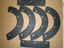 OEM REPLACEMENT USA MADE 6 PIECE PADDLE SET FITS HONDA HS521, HS621 SNOWBLOWER