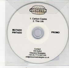 (EH125) Mutado Pintado, Carbon Copies / This Life - 2012 DJ CD