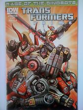 IDW COMICS TRANSFORMERS PRIME # 1 RAGE OF THE DINOBOTS