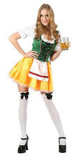 German Beer Girl XL UK 22-24 Oktoberfest Waitress Fancy Dress Plus Size Costume