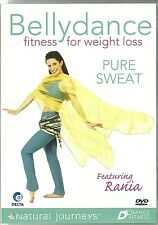BELLYDANCE PURE SWEAT DVD FITNESS FOR WEIGHT LOSS - (BELLY DANCING)