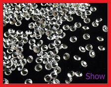2000 CLEAR WEDDING TABLE SCATTER CRYSTALS DIAMOND DECORATION Confetti