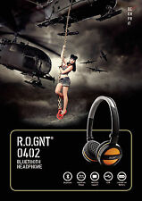 BLUETOOTH HEADPHONE CUFFIE AURICOLARE IPHONE ANDROID LETTORE MP3