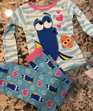 NWT DISNEYS FINDING DORY TODDLER GIRL PAJAMA SET SIZE 4T