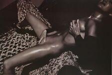 Davide Armando Original Portfolio Photo Print 30x42cm Nude Girl Touching herself