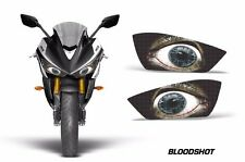 AMR Racing Head Light Eyes Yamaha R3 2015 Street Bike Headlight Parts BLOODSHOT