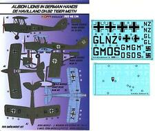 KORA Decals 1/48 DE HAVILLAND D.H.82 TIGER MOTH Captured Luftwaffe Version