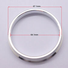4pcs High Quality Aluminum Alloy Wheel Spacer Hub Centric Rings 67.1OD to 64.1ID