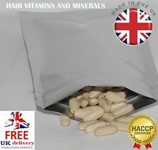 60 HAIR GROWTH TABLETS FORMULA, RICH NUTRIENT FOR RADIANT TEXTURE UK PRODUCT