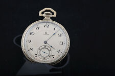 Vintage Omega Pocket watch 18 K gold filled vintage- Made in Swiss