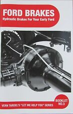 EARLY FORD BRAKES SERVICE AND REPAIR BOOK FLATHEAD V8 VINTAGE RAT ROD T M MOD