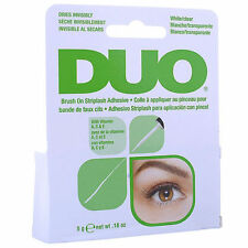 AUTHENTIC DUO striplash Eyelash Brush per colla adesiva chiara Tono 5G * UK Venditore