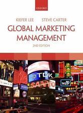 Global Marketing Management Lee, Kiefer, Carter, Steve Paperback