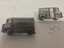 Citroen HY Van with hard top. 3D cufflinks classic car ref43