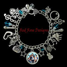 ~ONE DIRECTION, HARRY, LOUIS, NIALL, LIAM, ZAYN  CHARM BRACELET~