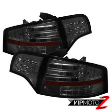 2005-2008 Audi A4 S4 RS4 B7 LED Turn Signal/Brake Lamp Smoke Tinted Tail Lights