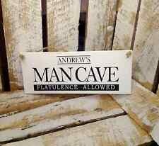 036 GHAND MADE GARAGE SHED DEN MAN CAVE SIGN FATHERS DAY GRANDAD PERSONALISED
