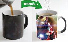 Iron Man Avengers Color Changing Magic Heat sensitive Tea Cup Coffee Mug gift