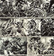 Conan Art of the Hyborian Age - Ode to the Cimmerian Card SET C1 - C12
