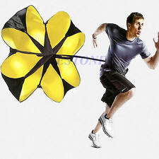 "56"" Sports Speed Chute running power resistance exercise training parachute Hot"