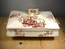 "James Beech ""Dartmouth"" Victorian Tureen - Bee Mark & J.B."