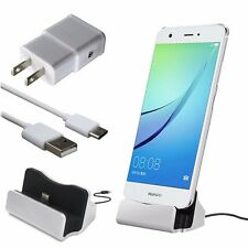 3 Charging Kit Wall Charger Type C Dock USB-C Cable for LG G5 G6 V20 Nexus 5X 6P