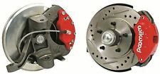 "63-70 CHEVY GMC C10 TRUCK 12"" DISC BRAKE 5 LUG WILWOOD KIT 2.5"" DROP SPINDLE"