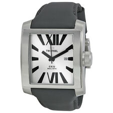TW Steel CEO Goliath Silver Sunray Dial 42mm Mens Watch CE3002