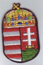Ungarn Wappen Aufbügler Patch Aufnäher Magyarország