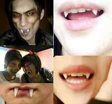 Halloween Vampire Fang Werewolf Teeth Tooth Fancy Dress Costume Accessory 4Pc CH
