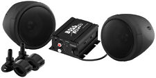 Boss Audio MCBK400  Motorcycle ATV UTV Boat Amp & Speakers 600 watt Stereo