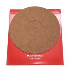 THORENS Cork & Rubber Non-static Platter-Mat minimizes vinyl resonances !