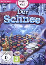 PC CD-ROM + Der Schnee + 3 Gewinnt Spiel + Denken + Logik + Win 8
