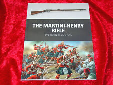 Martini-Henry Rifle Book by Stephen Manning~.577/450~Zulu Wars~1st Ed. 2013~NEW!