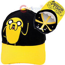 Adventure Time Jake Boys Baseball Hat Adjustable Kids Snap Back Cap