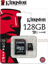 128GB Kingston MicroSDXC 128G Memory Card/Smart Phone/Tablet/Camera SDC10G2/128G