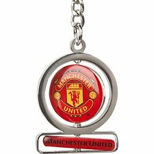 Manchester United Double Spinner Keyring EB7A