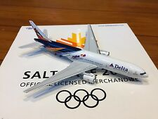 Delta Airlines Salt Lake City 2002 Olympics Boeing 777-200 1:400 Gemini Jets