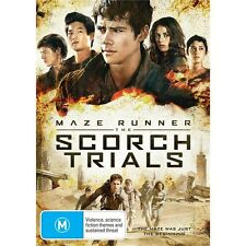 MAZE RUNNER:The Scorch Trials-Region 4-New AND Sealed