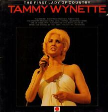 Tammy Wynette(Vinyl LP)The First Lady Of Country-Spot-SPH 8509-UK-1983-VG/VG+