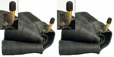 (TWO) REAL 11X4.00-5 11/4.00-5 TIRE INNER TUBE BENT METAL VALVE FREE SHIPPING