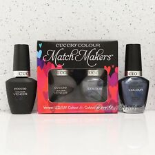 CUCCIO Veneer Match Makers - NANTUCKET NAVY 6049 Gel & Nail Lacquer Duo Kit