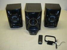 SONY MHC-EC609iP MINI HI-FI AM/FM STEREO SHELF SYSTEM W CD/MP3/iPod/iPhone Dock