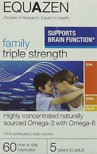 Eye Q Equazen Family Triple Strength for 5 years+ to adult  x 60 Capsules