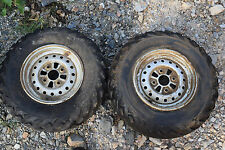 G1 BOTH WHEEL RIMS 25X8-12 ATV QUAD FREE SHIP HONDA SUZUKI KAWASAKI POLARIS