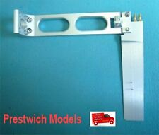 RUDDER GAS with 150mm LONG BRACKET and TWIN WATER  PICKUP gas rc boat model